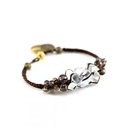 Bracelet Aurore chocolat