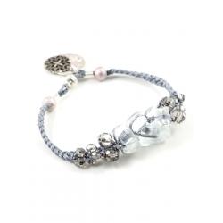 Bracelet Aurore gris