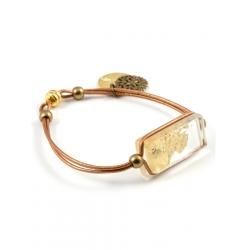 Bracelet Zen d'Or bronze